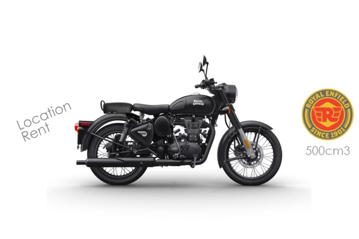 Royal Enfield 500cm3 Classic Stealth Black