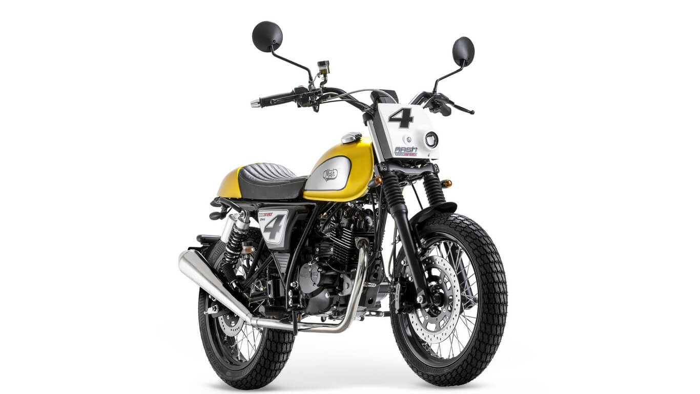Mash Dirt 125cc Gold