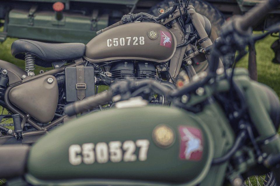 Série limitée Royal Enfield 500cc Pegasus