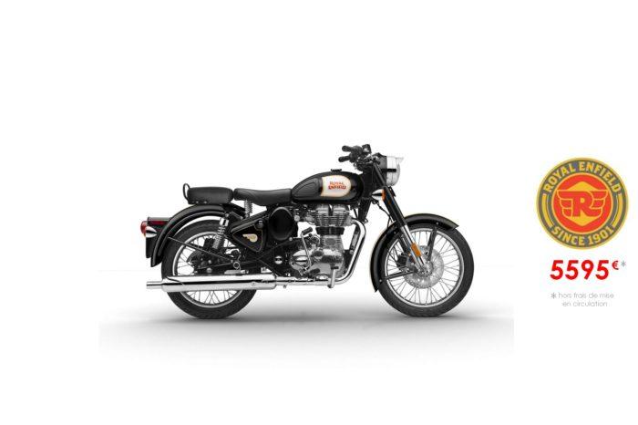 Royal Enfield 500cm3 Classic Noire