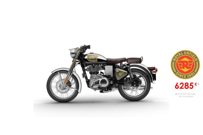 Royal Enfield 500cm3 Classic Chrome Gray