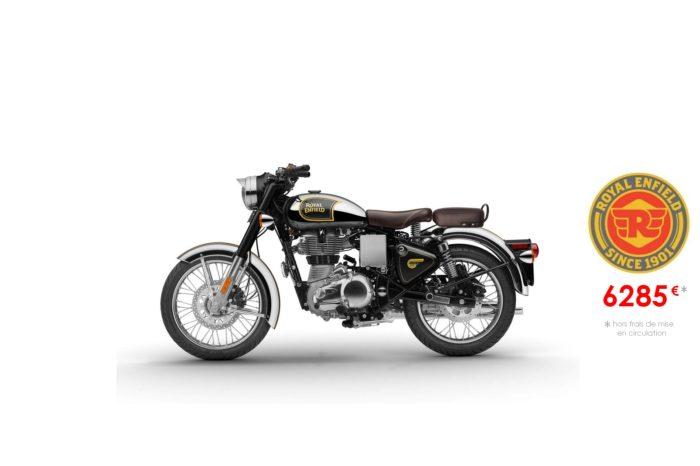 Royal Enfield 500cm3 Classic Chrome Noire