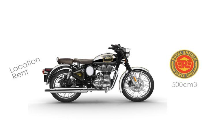 Royal Enfield 500cm3 Classic Chrome Noir