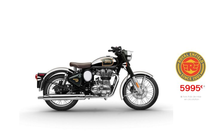Royal Enfield 500cm3 Classic Chrome Green