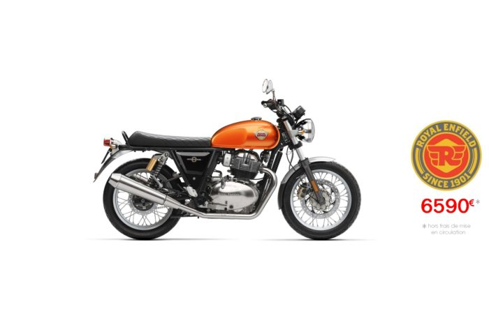 Royal Enfield 650cm3 Interceptor Orange Crush
