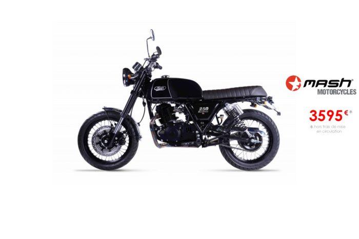 Mash Black Seven 250cm3 – Euro4