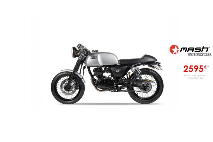 Mash Cafe Racer 125cm3 Silver Mat – Euro4