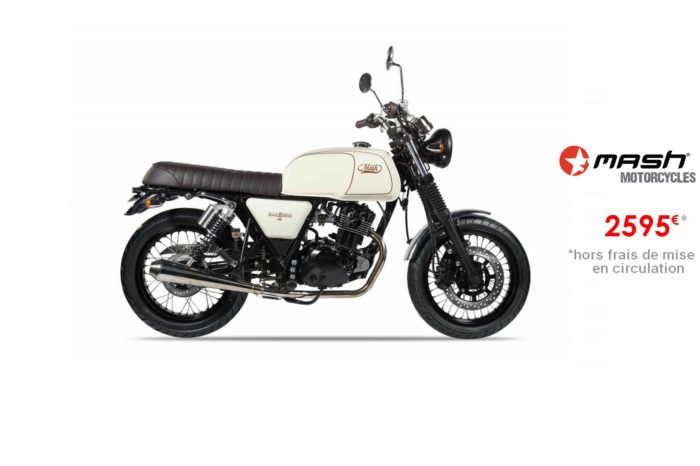 Mash Brown Edition 125cm3 – Euro4
