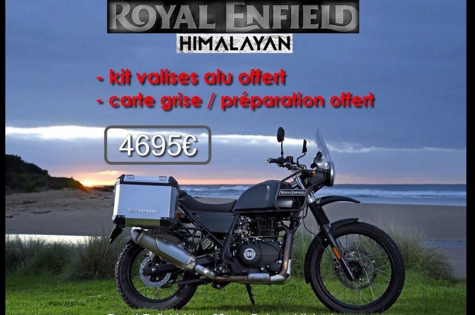 700€ offerts sur Royal Enfield Himalayan Neuve
