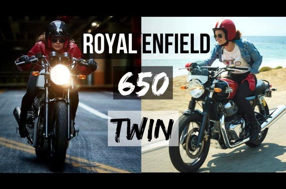 Royal Enfield 650cc Interceptor & Continental GT