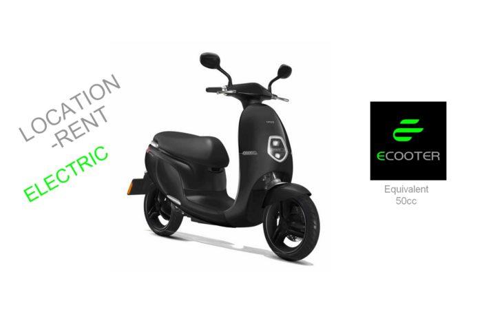 Ecooter E1 (équivalent 50cm3)