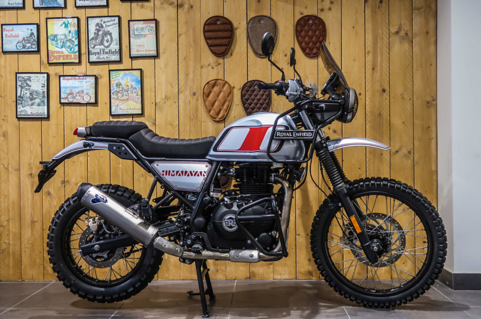 Royal Enfield Himalayan by Bike'Up Nice
