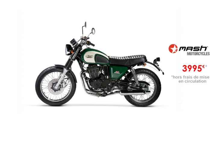 Mash Five Hundred Irish Green 400cc