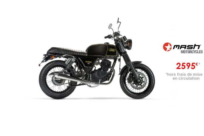 Mash Black Seven 125cm3 – Euro4