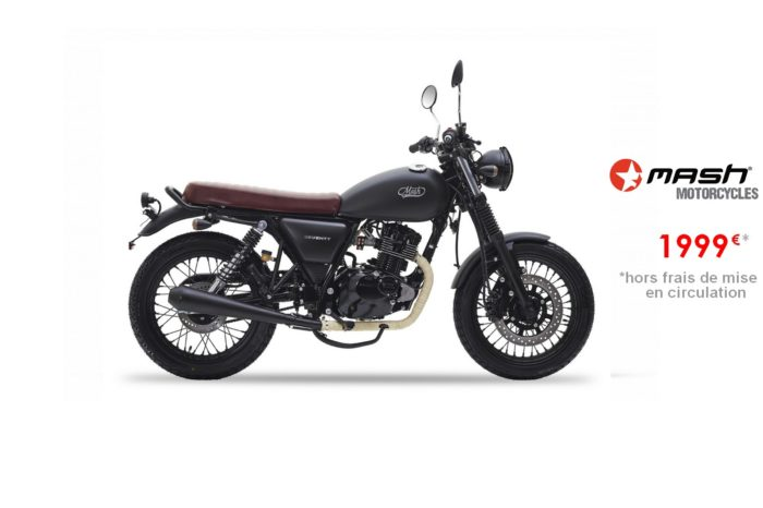 Mash Seventy Black 125cm3 – Euro4