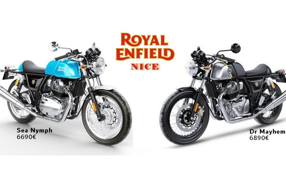 Nouveaux coloris Royal Enfield Continental GT