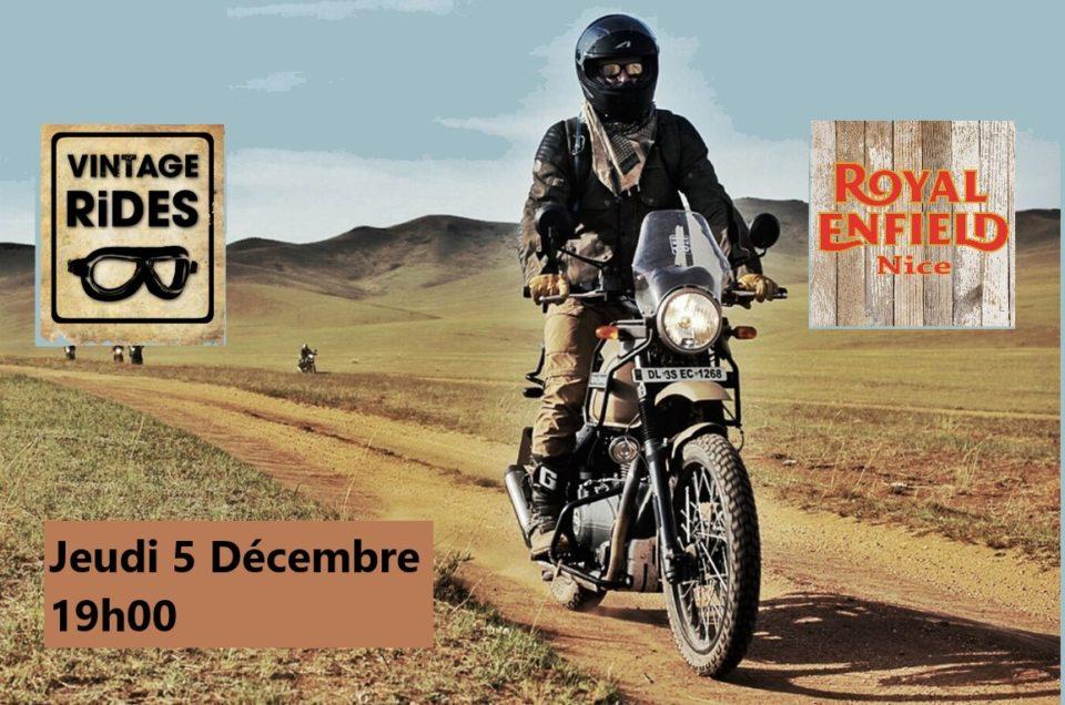Évènement – Soirée de présentation voyage moto: «La Mongolie en Himalayan»