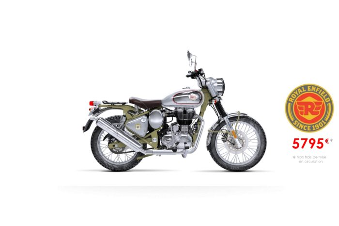 Royal Enfield 500cm3 Bullet Trial Green