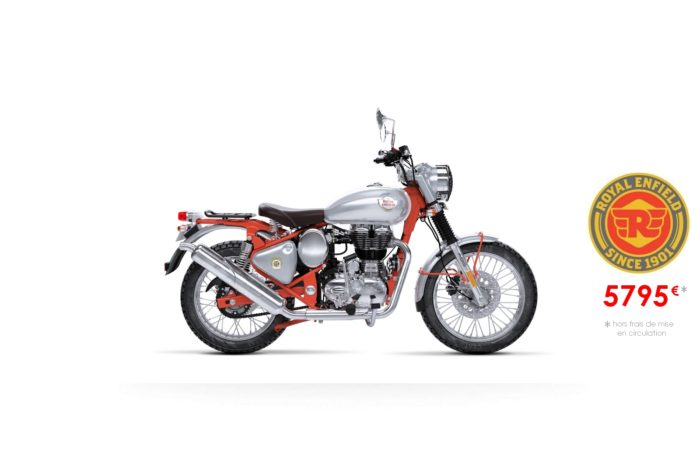 Royal Enfield 500cm3 Bullet Trial Red