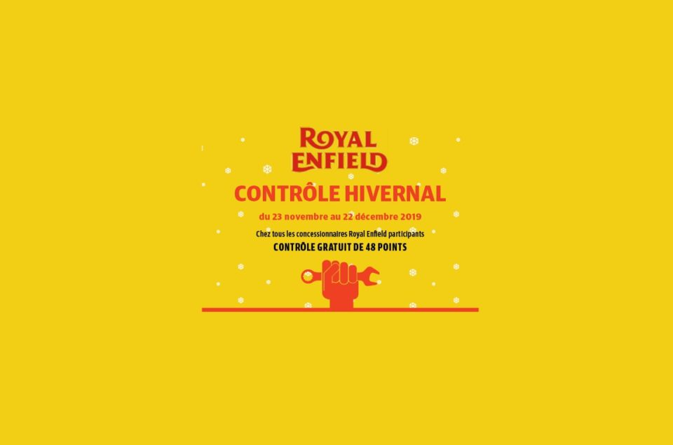 Entretien -Winter Check Royal Enfield
