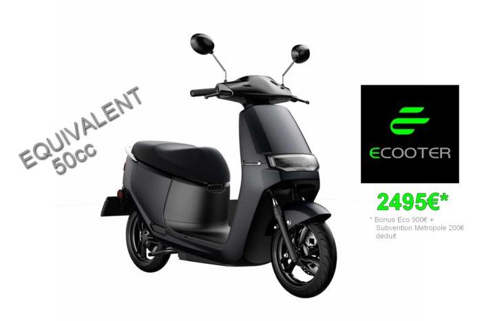 ECOOTER ORCAL E2 Électrique – Equivalent 50cc