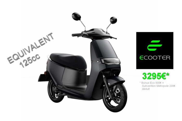 ECOOTER ORCAL E2R Électrique – Equivalent 125cc