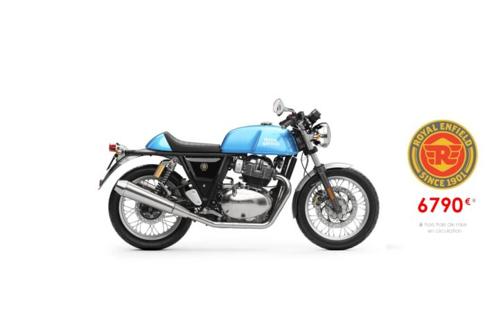 Royal Enfield 650cm3 Continental GT Ventura Blue
