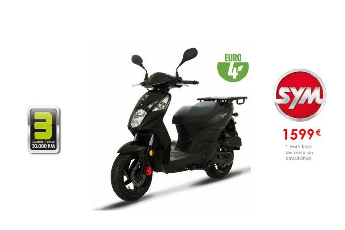 SYM Xpro 50cc – Spécial Livraison –
