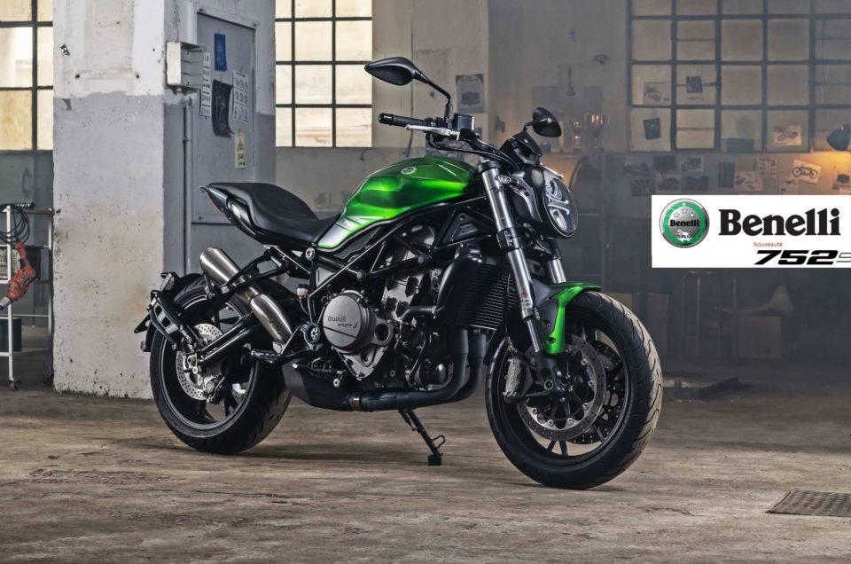 Nouveauté – Moto BENELLI 752 S