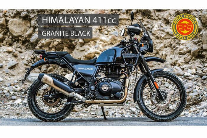 ROYAL ENFIELD HIMALAYAN GRANITE BLACK E5