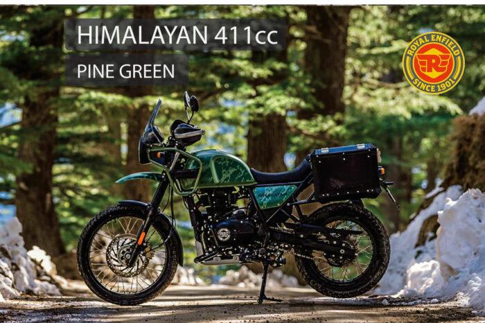 ROYAL ENFIELD HIMALAYAN PINE GREEN E5