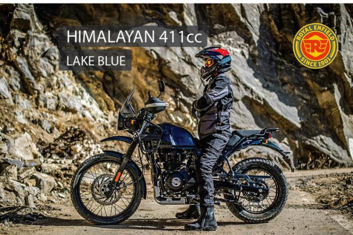 ROYAL ENFIELD HIMALAYAN LAKE BLUE E5