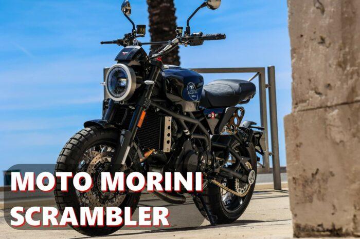 MOTO MORINI SCRAMBLER 1200cc